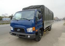 Hyundai HD72 Nhập khẩu - Thùng bạt