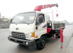 Xe tải Hyundai HD98 - Gắn cẩu 3T 3 Đốt