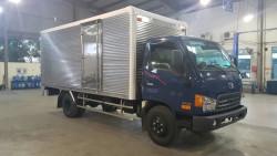 Xe tải Hyundai HD99 - Thùng kín Có bưởng nâng hạ