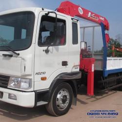Xe tải HD210 Hyundai - Gắn cẩu 3T 3 đốt