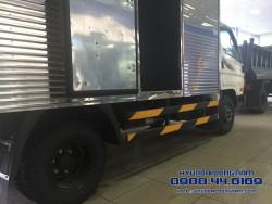 Xe tải HD88 thùng kín tải trọng 5.1 tấn