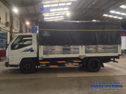 Xe tải Đô Thành IZ49 thùng bạt 2,4 tấn